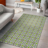 Cocoa Pattern background Area Rug
