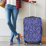 Lavender Theme Pattern Luggage Covers