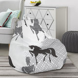 Horse Pattern Bean Bag Chair