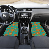 Sea Turtle Tribal Aboriginal Pattern Front Car Mats