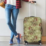 Peacock Tribal Pattern Luggage Covers