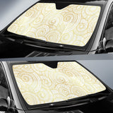 Shell Tribal Pattern Car Sun Shade