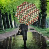 Zigzag Chevron Pattern Umbrella