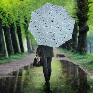 Pigeon Pattern Print Design 03 Umbrella