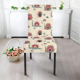 Snail Pattern Print Design 04 Dining Chair Slipcover
