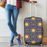 Sun Pattern Luggage Covers