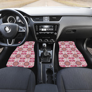 Indian Pattern Front Car Mats