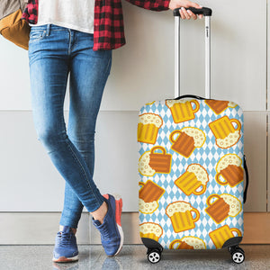 Beer Glass Pattern Luggage Covers