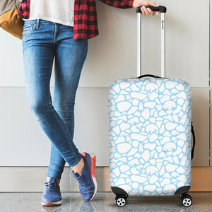 Polar Bear Ice Pattern Luggage Covers