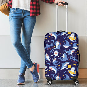 Shark Funny Pattern Luggage Covers