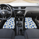 Blueberry Pattern Front Car Mats