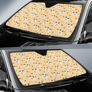 Goat Glass Pattern Car Sun Shade