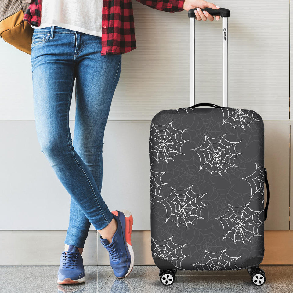 Cobweb Spider Web Pattern Luggage Covers