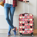 Chihuahua Heart Pink Pattern Luggage Covers