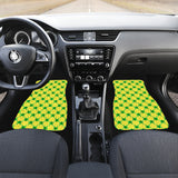 Frog Pattern Front Car Mats