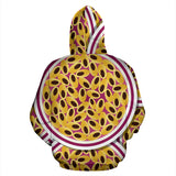 Passion Fruit Seed Pattern Men Women Pullover Hoodie