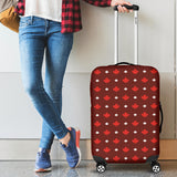 Canadian Maple Leaves Pattern background Luggage Covers