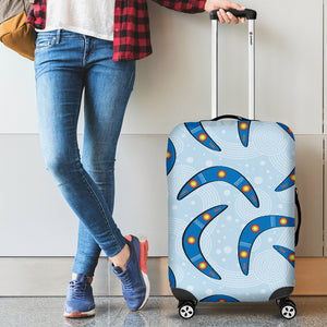Boomerang Aboriginal Pattern Luggage Covers