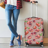 Grapefruit Pattern Background Luggage Covers