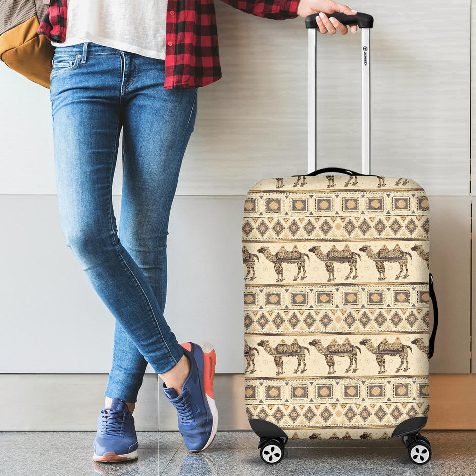 Traditional Camel Pattern Ethnic Motifs Luggage Covers