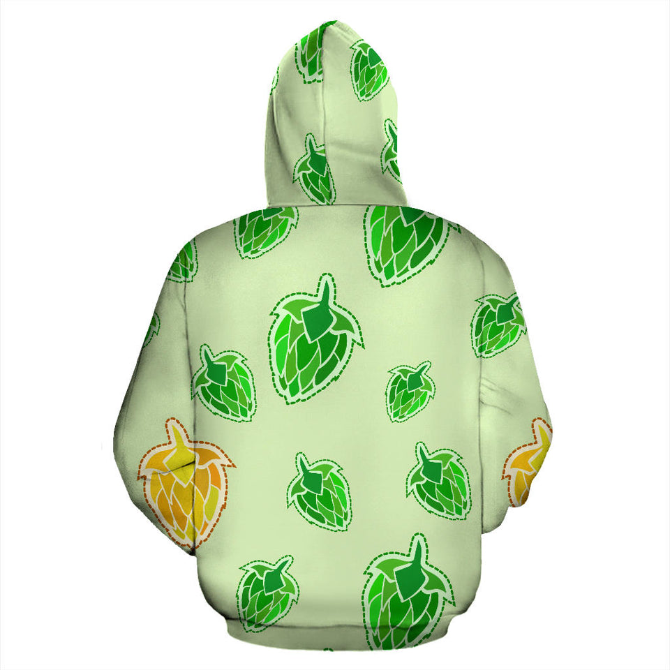 Hop Graphic Decorative Pattern Pullover Hoodie