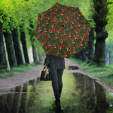 Squirrel Pattern Print Design 03 Umbrella