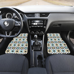 Arabic Morocco Pattern Front Car Mats