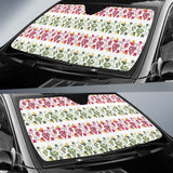 Grape Grahpic Decorative Pattern Car Sun Shade