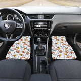 Bowling Strike Pattern Front Car Mats
