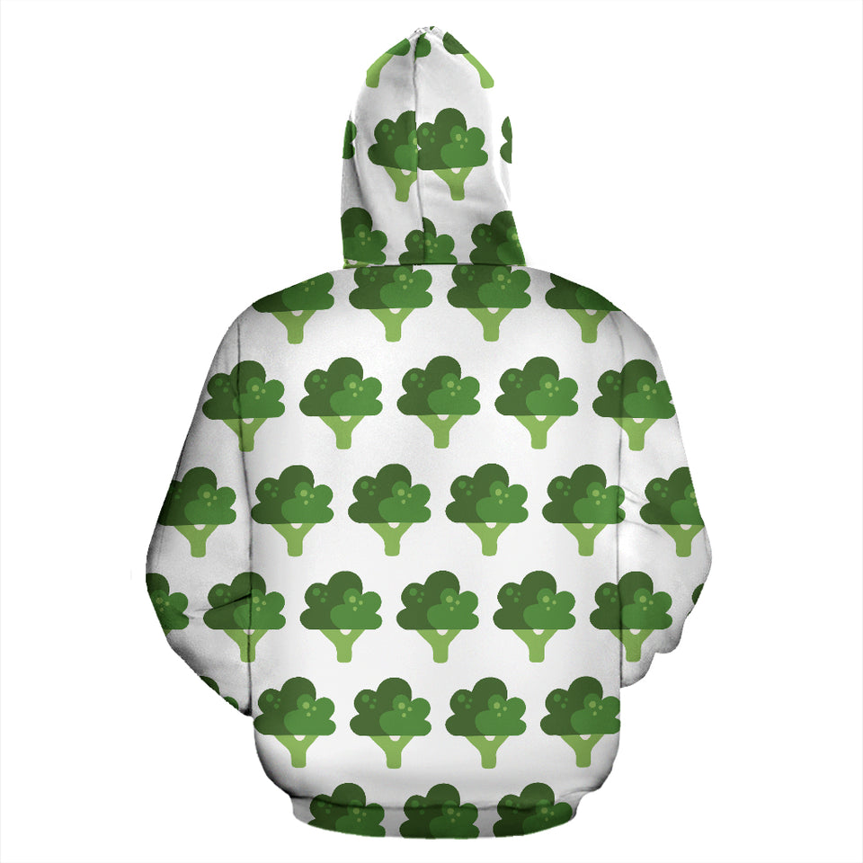 Broccoli Pattern Men Women Pullover Hoodie