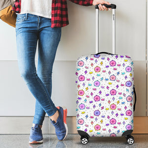 Alarm Clock Pattern Luggage Covers