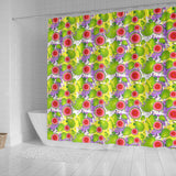Guava Pattern Shower Curtain Fulfilled In US
