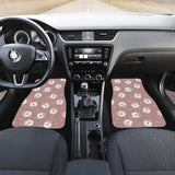 Fat Hamster Pattern Front Car Mats