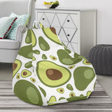 Avocado Pattern Bean Bag Chair