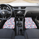 Starfish Shell Rope Pattern Front Car Mats