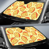 Cheese Pattern Car Sun Shade