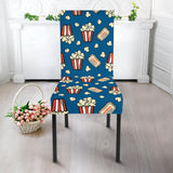 Popcorn Pattern Print Design 03 Dining Chair Slipcover