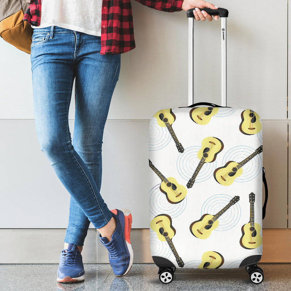 Classic Guitar Pattern Luggage Covers