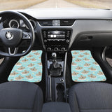 Sleep Koala Pattern Front Car Mats