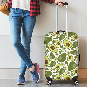 Avocado Pattern Luggage Covers