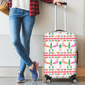 Flamingo Pattern Luggage Covers