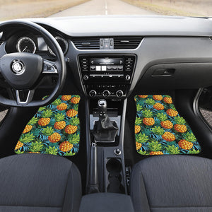 Pineapple Pattern Front Car Mats