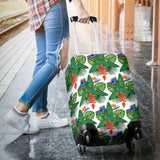 Heliconia Butterfly Leaves Pattern Luggage Covers