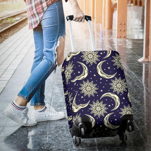Moon Tribal Pattern Luggage Covers