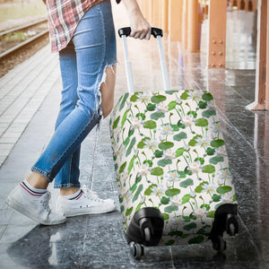 Lotus Waterlily Pattern Luggage Covers