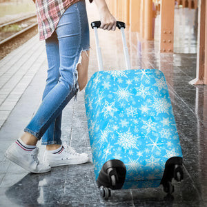 Snowflake Pattern Luggage Covers