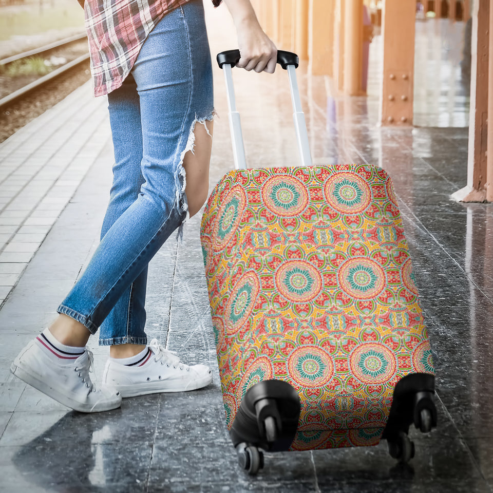 Indian Theme Pattern Luggage Covers