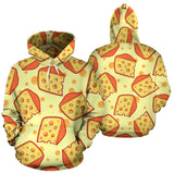 Cheese Pattern Men Women Pullover Hoodie