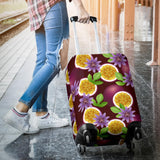Passion Fruit Sliced Pattern Luggage Covers