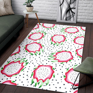 Dragon Fruit Seed Pattern Area Rug